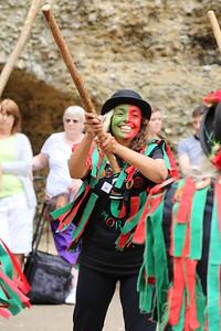 Morris dancing, Odiham Castle