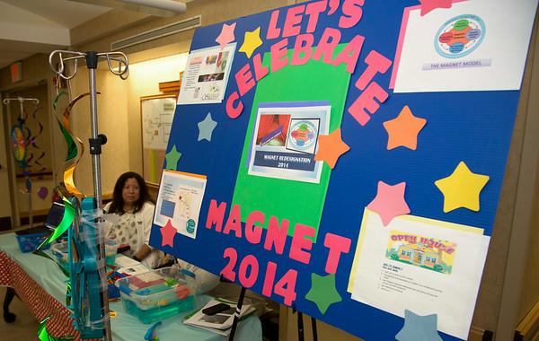 Magnet Site visit celebration at Holy Name Medical Center in Teaneck, NJ. <br /> 8/11/14  Photo by Jeff Rhode /Holy Name Medical Center