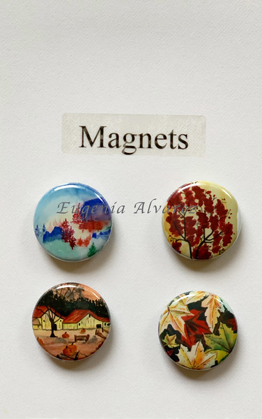 Colors of Fall Magnets