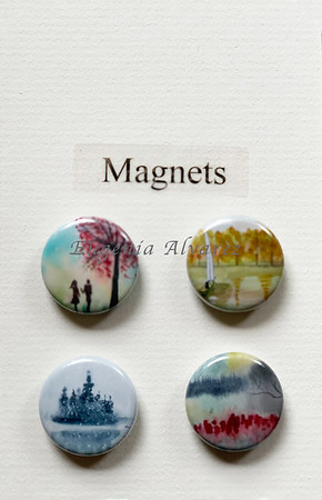 Trees Magnets