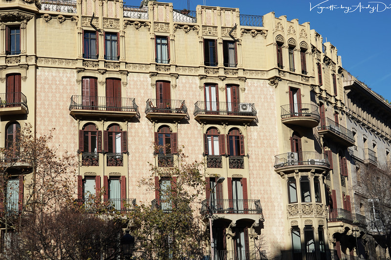 BARCELONA mesmerizes your senses with the variety, the creativity, the majesty, and the elegance of its architectural styles, which makes this novel and unique anywhere in the World!