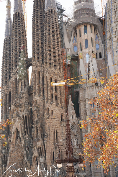An unprecedented integration of completely disparate forms of sculpture which holistically appears completely congruent and in harmony, such is the genius of ANTONI GAUDI!