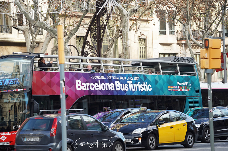 The Barcelona Open Top Tourbus (hop on - hop off) is a great way to check out this magnificent metropolis!