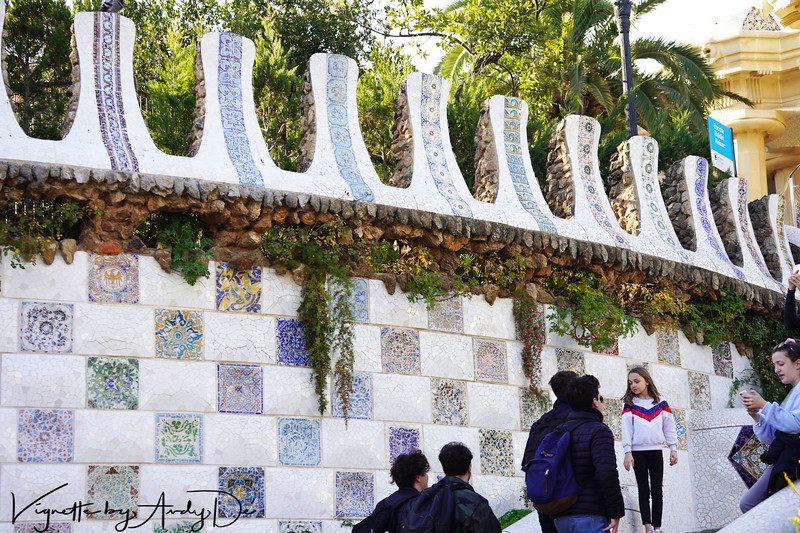 PARK GUELL is one of the masterpieces of the ANTONI GAUDI, who commenced work on it in 1900. Inaugurated as a public park in 1926, it was listed as a UNESCO World Heritage Site in 1984. This playful urban park, the work of architect Antoni Gaudi, features peaceful greens, winding paths and many sculptures and mosaics designed by Gaudi himself.