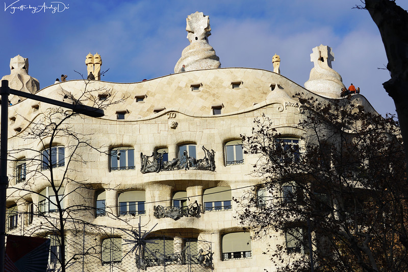 CASA MILA, popularly known as 'LA PEDRERA' (the stone quarry), an ironic allusion to the resemblance of its façade to an open quarry, was constructed between 1906 and 1912 by Antoni Gaudí (1852-1926). For its uniqueness, artistic and heritage value have received major recognition and in 1984 was inscribed on UNESCO World Heritage List, for its exceptional universal value. This is arguably, GAUDIs best known work besides his Magnum Opus, the SAGRADA FAMILIA!<br /> Manage