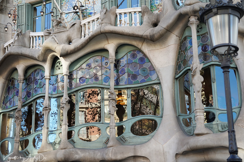 Another perspective on the CASA MILO by ANTONI GAUDI - like nothing most of us have ever seen!