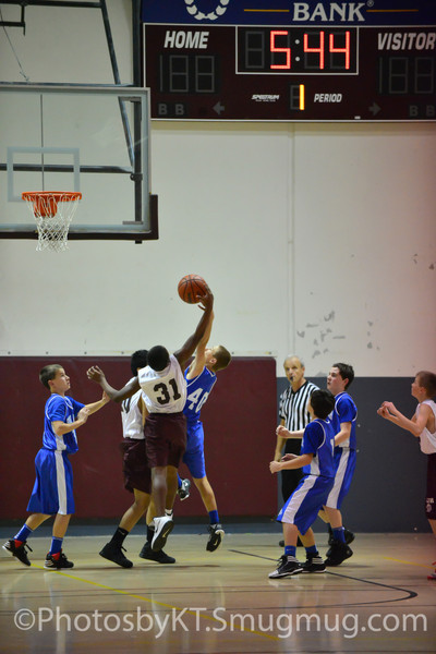 MJH7GB vs Bear Branch Basketball