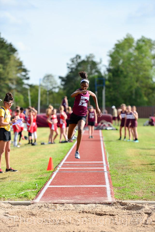 Magnolia Jr High Track Meet