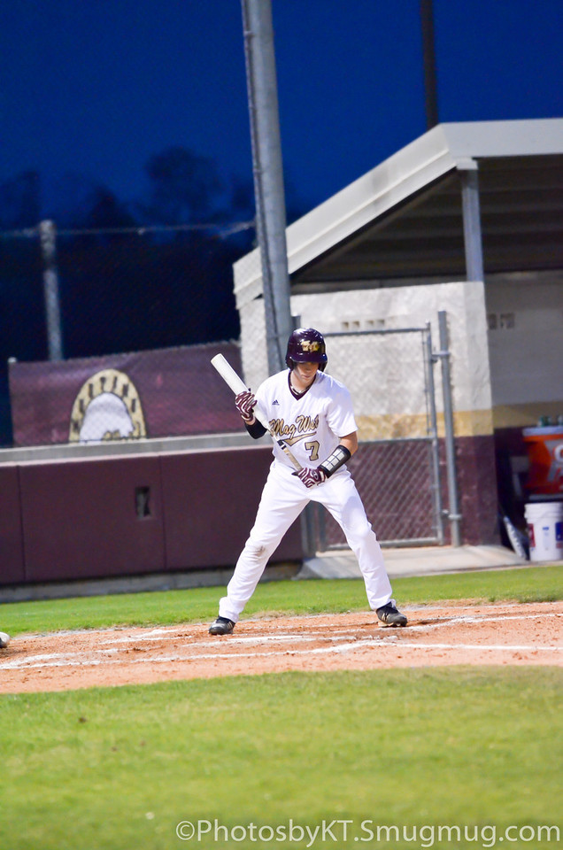 Magnolia West vs Northbrook Baseball