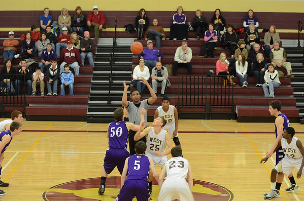 Magnolia West Basketball 012111