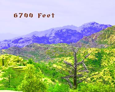 6700 Feet