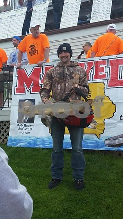 Trevor Peters is the northern fish winner with the weight of 6 lbs and 11 oz.