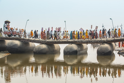 Mahants and Procession