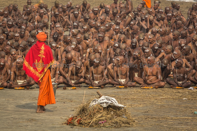 Sadhu Initiates
