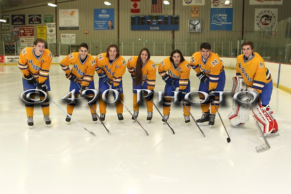 Mahopac Hockey senior pics 2017
