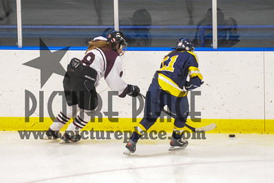 MHS Girls Hockey Vs. St.Paul Blades Action