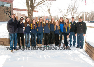 MHS Nordic Ski team 2012-13