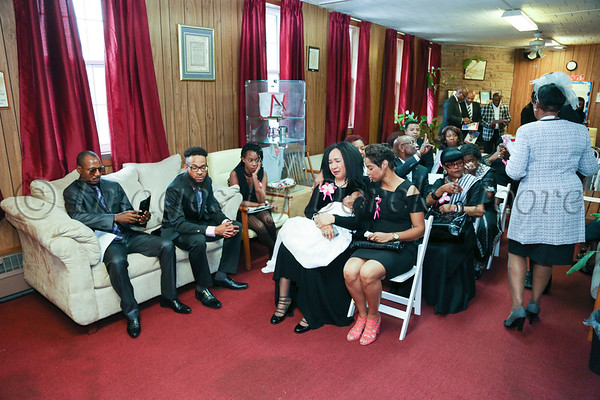 Mai Brown Funeral Service -Viewing of the Body