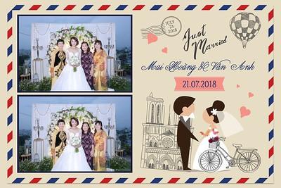 Mai Hoang & Van Anh Wedding Photo Booth - Chụp hình in ảnh lấy li�n Tiệc cưới
