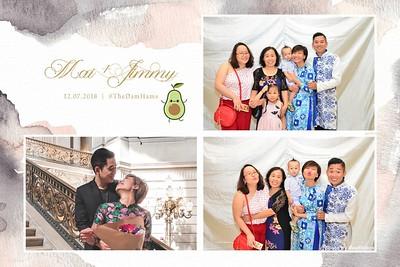 Mai & Jimmy Wedding Photo Booth - Chụp hình in ảnh lấy li�n Tiệc cưới tại Hà Nội