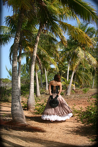 Jessica in the Palm Grove