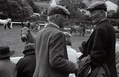 At the Connemara Pony Show, Clifden