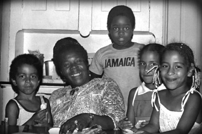 Cedella Booker (mother of Bob Marley) and Family