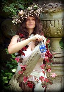 Thirsty Pre-Raphaelite Maiden
