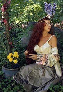 """Pre-Raphaelite Nymph"""