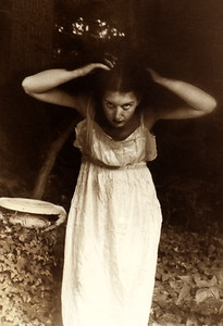 """Self-Portrait with Birdbath"""