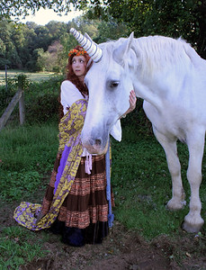 """Romany & the Unicorn"""