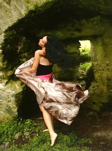 """Self-Portrait in Rahinanne Castle, Ireland"""