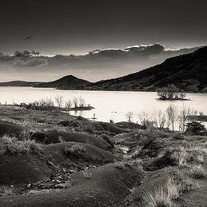 Le Lac du Salagou, Languedoc, France