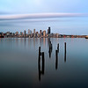 Seattle under long exposure