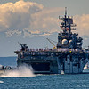 Amphibious assault ship USS Bonhomme Richard