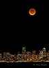 Blood Moon over Seattle, 9/27/2015