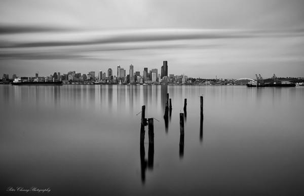 Seattle under long exposure
