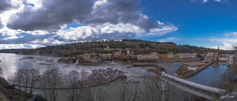 Willamette Falls, Oregon City, Oregon
