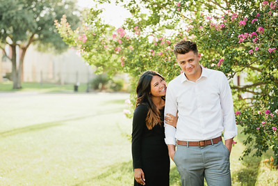 Vichiny and Hyrum Engagement session in Katy, TX