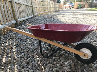 Radio Flyer kid wheel barrow