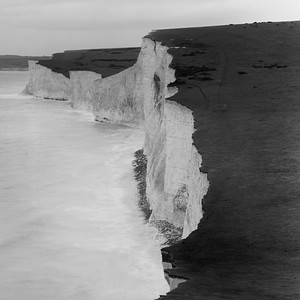 Seven Sisters white cliff, East Sussex
