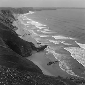 Cornish coastline, England