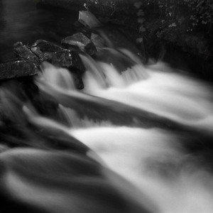 Flowing water, Stroud, Gloucestershire