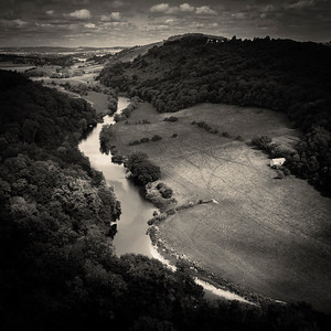 River Wye, Gloucestershire, England