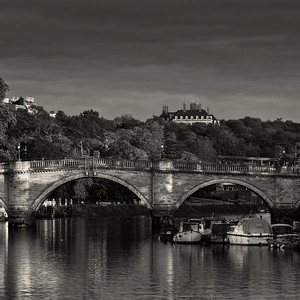 Richmond Bridge, Richmond, Surrey, England