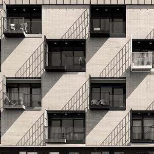 Modern apartments, Croydon