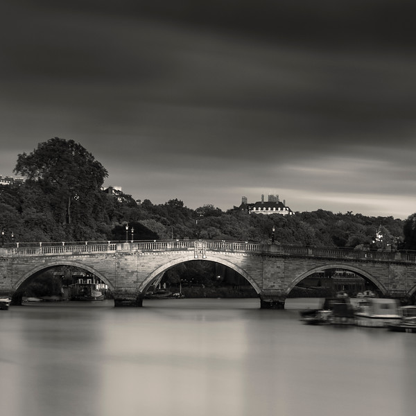 Richmond Bridge, Richmond, Surrey, UK