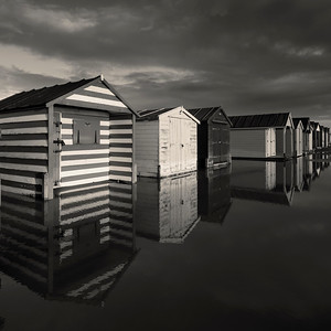 Reflection, West Wittering, West Sussex, England