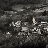 Village of Woodchester and St Mary Church, Gloucestershire, UK