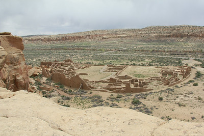 Pueblo Bonito from Above